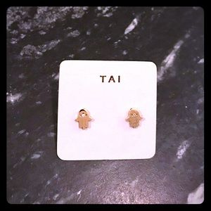 Tai Hamsa Earrings